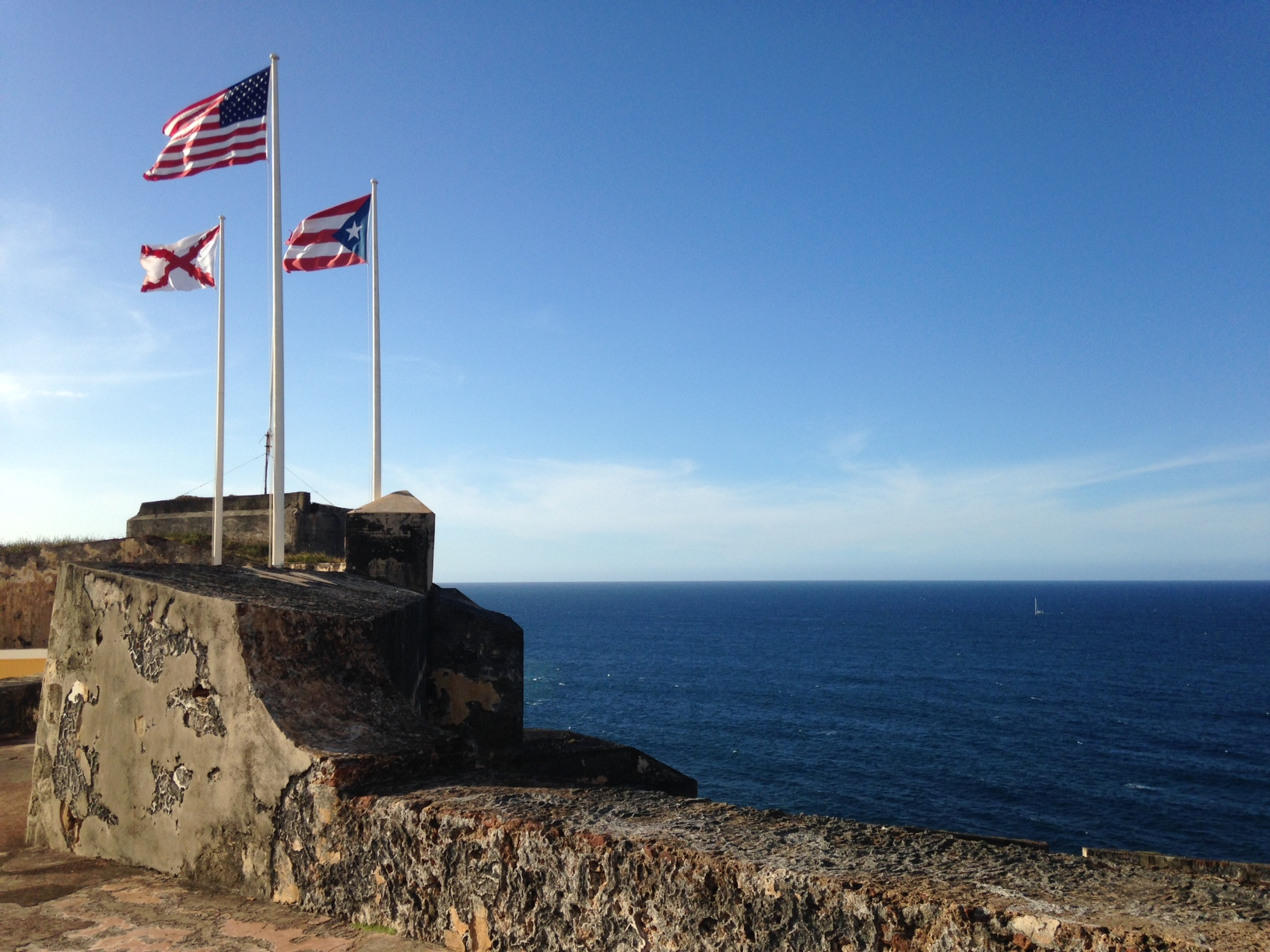 Puerto Rico, 1200 miles from Florida yet a world away