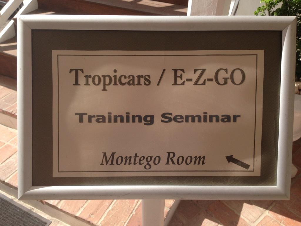 E-Z-GO Training School – Jamaica