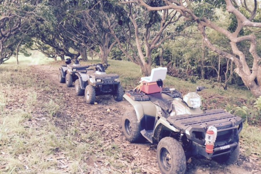 Tropicars visits ATV Paradise Tours in St. Lucia
