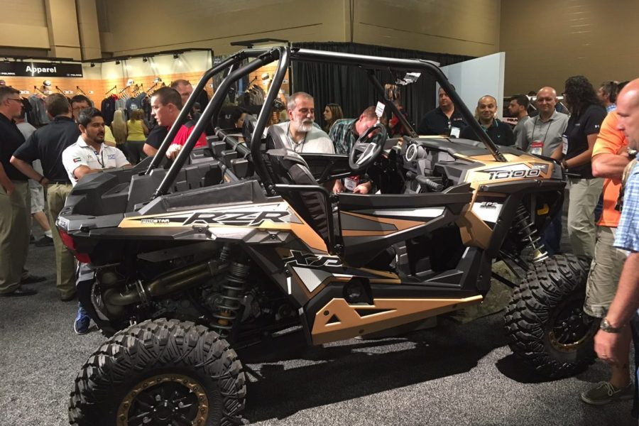 Tropicars is live at the Polaris Dealer Meeting in Nashville, TN!