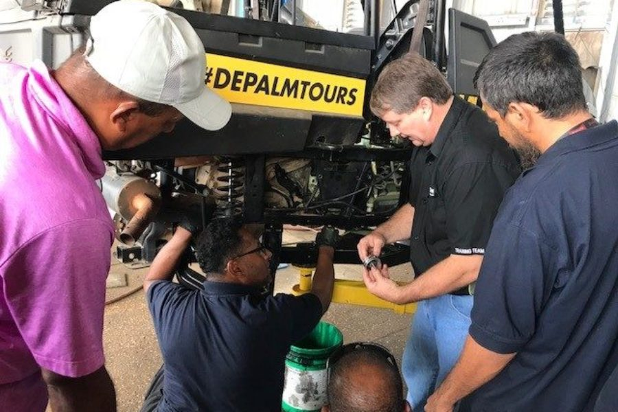 Tropicars hosts Textron Off-Road Stampede Training for DePalm Tours Aruba