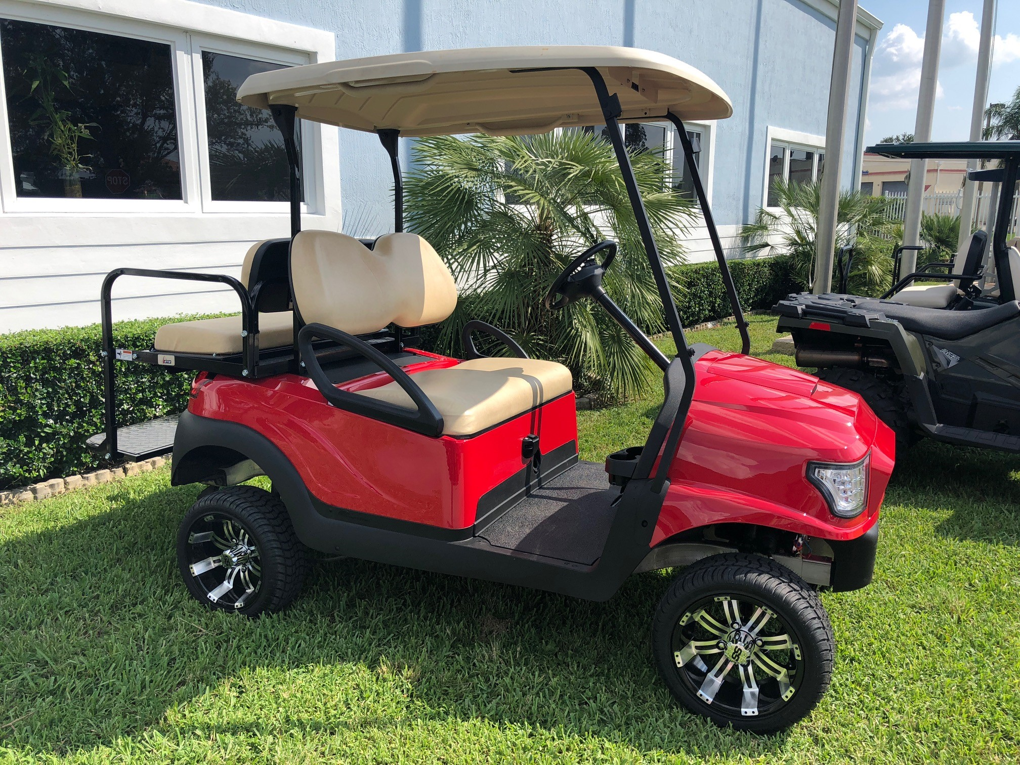 Tropicars is Outfitting Club Car with the Alpha Street Body Kit