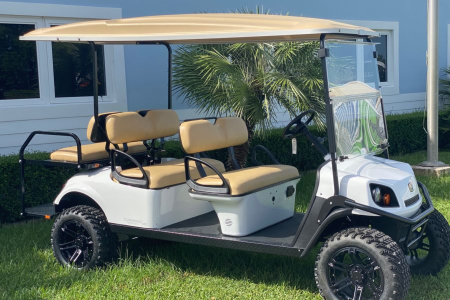 2020 Lifted Cushman Shuttle 6 72V