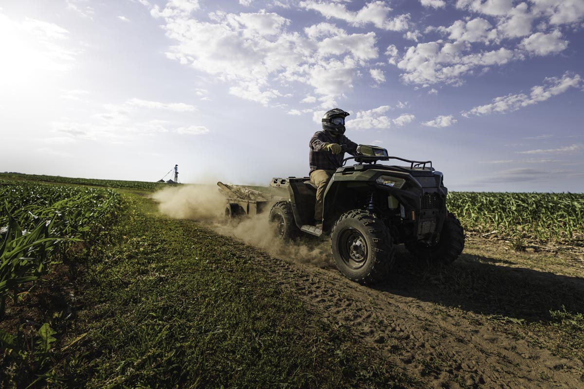 Polaris unveils a new generation of ATV