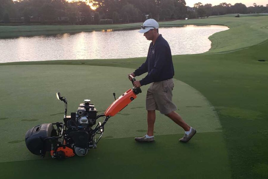 Jacobsen Eclipse Package Delivered to Pelican Bay Golf Club